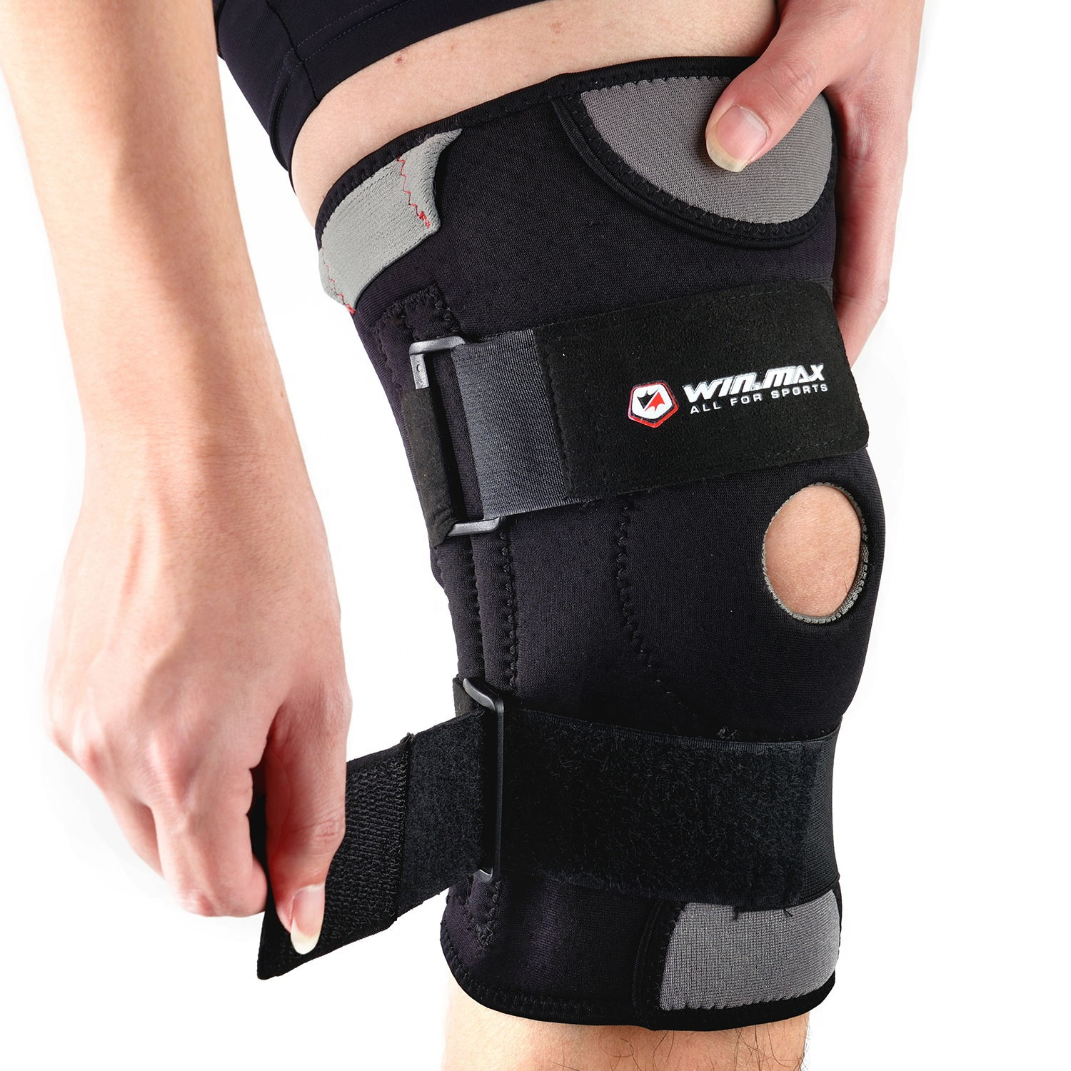 Adjustable Elasticity Breathable Knee Pad High Quality Sleeve Support Knee Brace for cycling soccer football