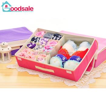 Exceptionnel 2 IN 1 Multifunction Bra Underwear Storage Drawer Boxes Closet Organizer  Short Ties Socks Divider Storage