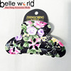 plastic flower hair clips accessories