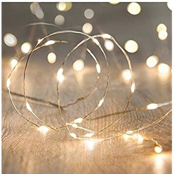 Free Sample Battery Neon Christmas Fairy String Lights
