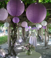 Mix Color Paper Chinese Lanterns for home ,wedding & party decoration
