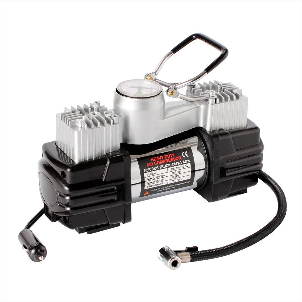 12 V Electric Double Cylinder Car Tire Inflator Air Pump