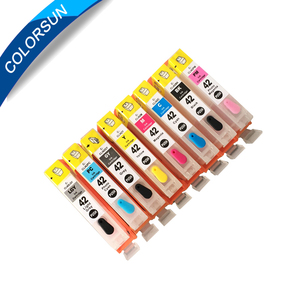 Good quality refillable ink cartridge cli-42 for canon inkjet printer pixma pro100 with auto reset chips