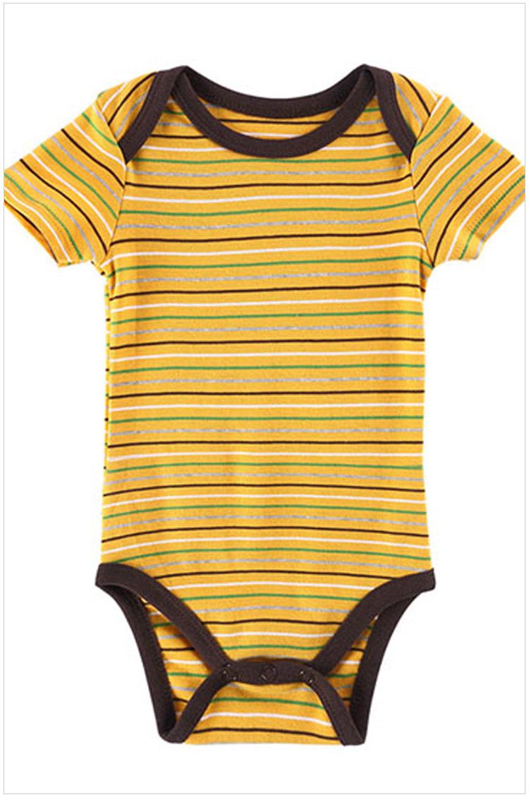 c6dea5220bb Get Quotations · 3PCS Newborn baby Jumpsuit short sleeved baby girl  bodysuits 100% Cotton Summer Style baby boy