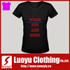 Hot sale ladies grey t-shirts