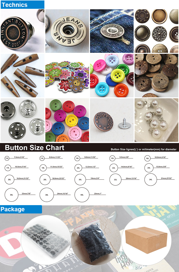 China Garment Label Factory Wholesale Recycled Sewing Resin Plastic Holes Back Buttons for Clothes Collars