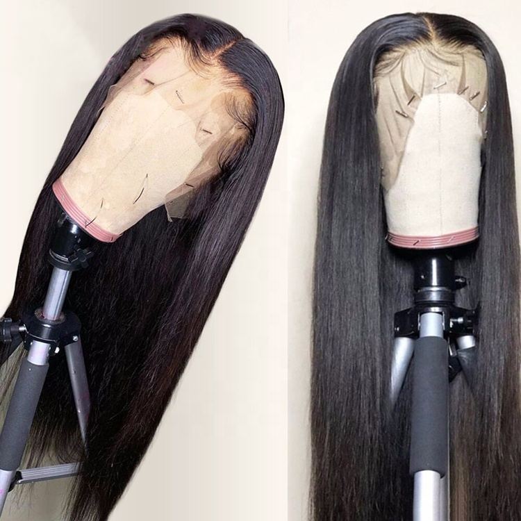 Free Shipping Wholesale 10A Virgin Cuticle Aligned Hair Glueless Full Lace Wigs Full Lace Human Hair Wig,Lace Front Wigs