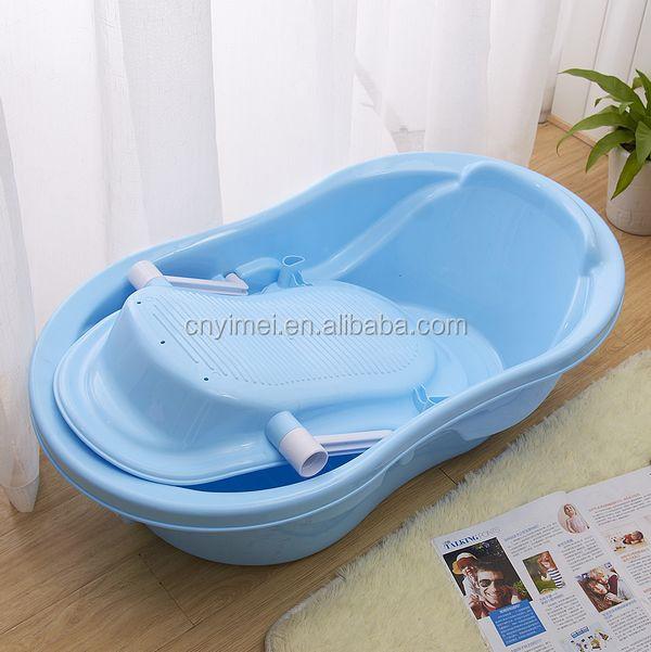 big size ,with the holder, plastic baby bath tub, View baby bath tub ...