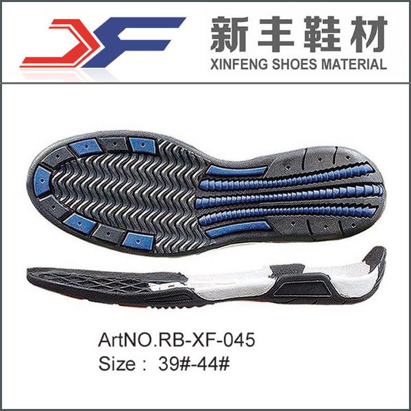 Rubber Sports Shoes Sole Design