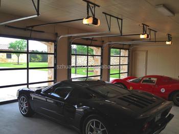 Motor controlled stable elegant wood imitation aluminum for Motor for garage door price