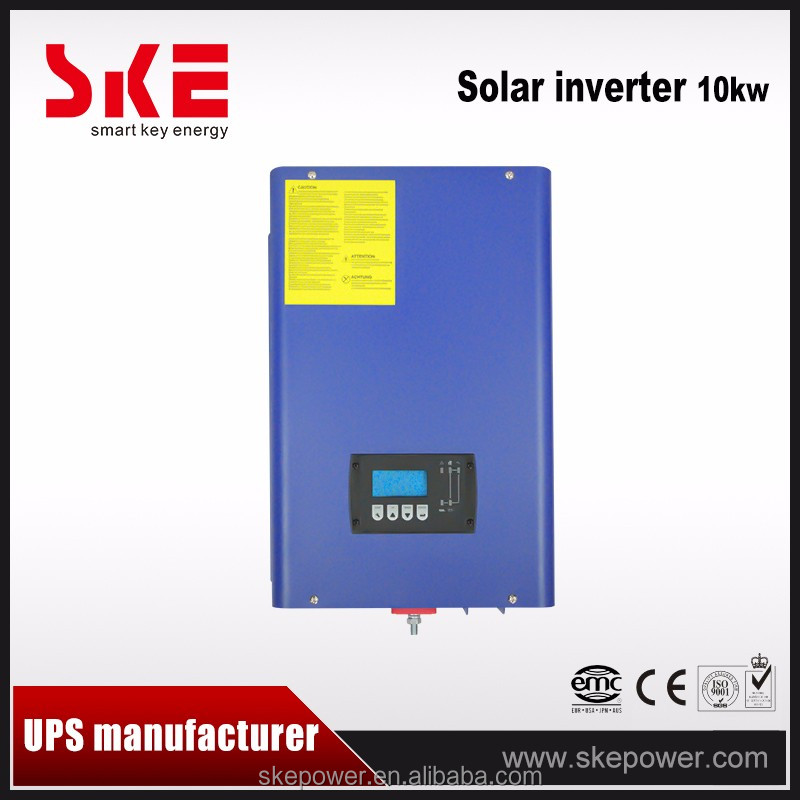 10 kw off grid hybrid solar system MPPT inverter for home use from China with german quality
