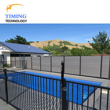 Decorative peronal community residential fence WPC wall panel swimming pool fence