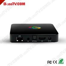 Hot Selling Quad Core Free Sample 4K Android IPTV No Subscription Arabic TV Box