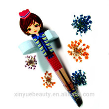 eyelash tweezers china eyelash tweezers factory make up tools of eyebrow
