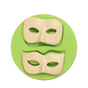 Hot New Easter series mask shape silicone soap or cake mold edible cake decoration