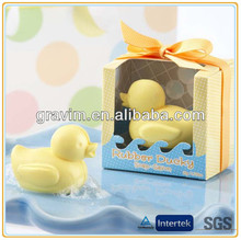 Exquisite packaging baby bathing toy rubber duck