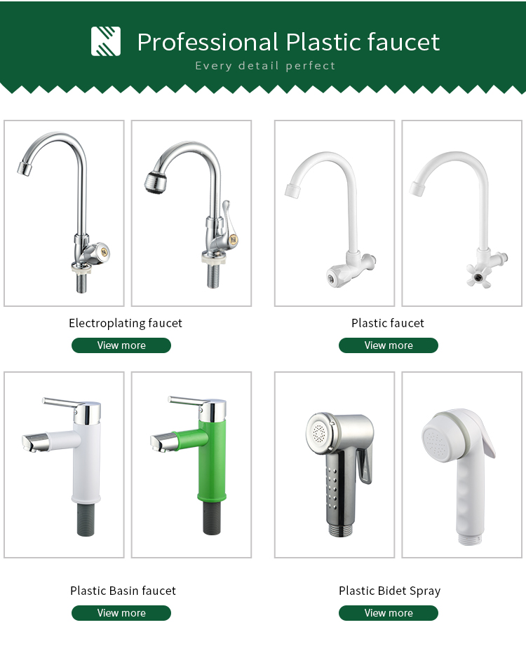 Factory Supply Low Price Water Tap Polished ABS Fast Open Basin Faucet Water Tap