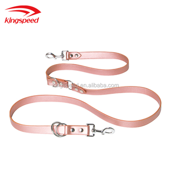 Pet Supplies Private Label Customized Pet Leather Leash for Dogs
