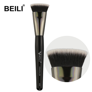 BEILI Makeup Brush Tools Cosmetic Concealer Soft Synthetic Hair Wood Handle Single Makeup Brushes