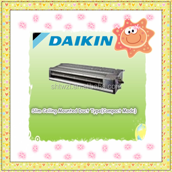Daikin Vrv X Series Air Conditioner Slim Ceiling Mounted Ducted Type Duct Fan Coil Unit