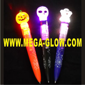 best led halloween flashing spinning pens