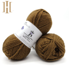 Dye 1.7NM Wool Blend Acrylic Yarn For Hand Knitting Wholesale