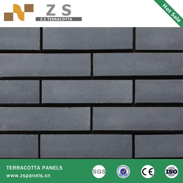 En terre cuite carrelage panneau d 39 argile brique mur for Carrelage en terre cuite pour exterieur