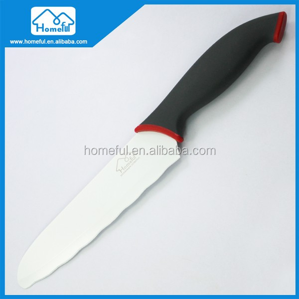 "6.5"" High Quality Soft Touch Handle Non Stick Coating Sandwich Knife"