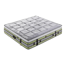 AA+ OEM Chinese compress rolled up High density sponge foam air spring sleepwell bed compression mattress