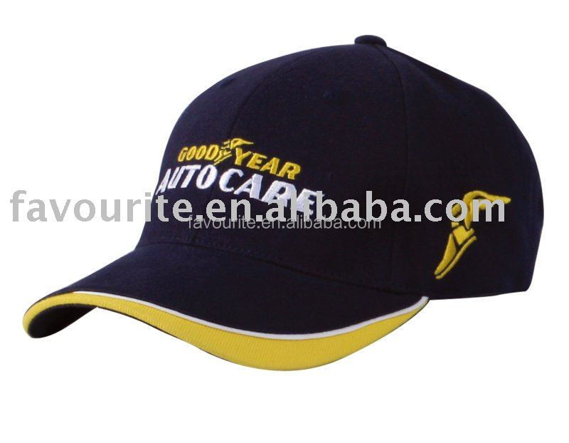 wholesale heavy brushed 6 panel baseball cap custom, golf cap with embroidery