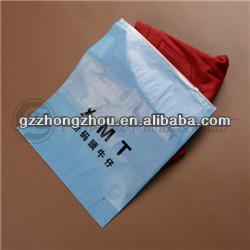Pvc Zipper Lock Poly Bag Slide Plastic Bag For T Shirt