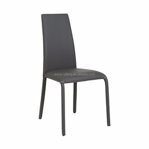 Elegant restaurant lounge leather dining chair made in china
