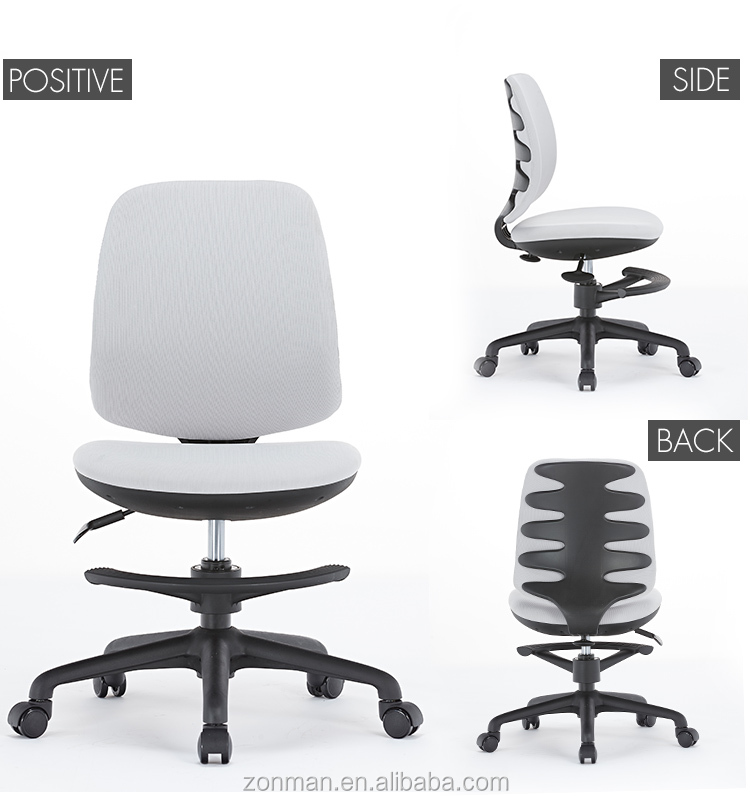 2018 New Design Beautiful and Durable High Quality Cartoon Pattern Office Chair with Footrest
