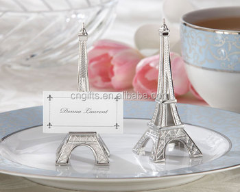 Eiffel Tower Table Place Card/Holder For Wedding Party Favors Supplies