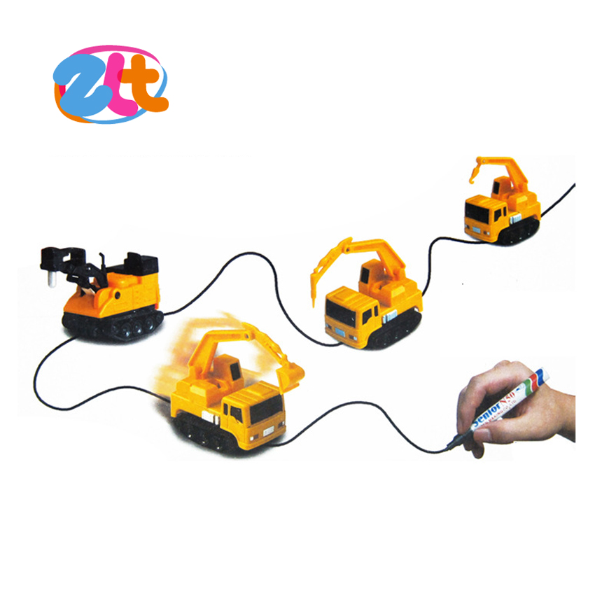 New kids magic mini play inductive truck toys