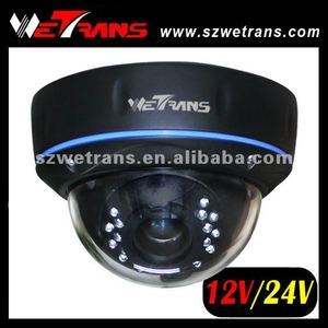 WETRANS TR-LD753IREFH Dual Voltage 12V DC/ 24V AC Varifocal CCTV Dome Camera