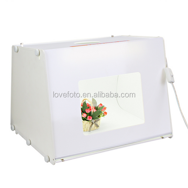 Portable Mini Photo Studio Box - Professional Photography, Backdrops, Light