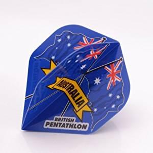 PENTATHLON Darts Flights Australia Standard by PerfectDarts