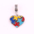 IMG 2464 Trade Assurance Yiwu Huilin Jewelry Five colours magic puzzles Enamel  heart unique design pendant