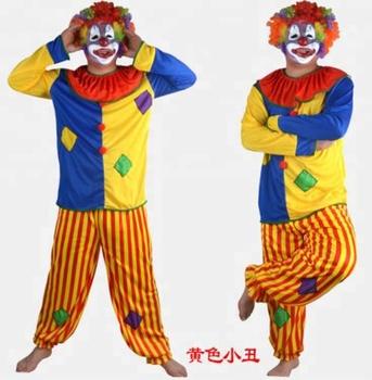 Halloween Costume Court Jester Clown Joker Costume Men Buy