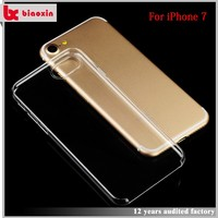 Fast delivery unique design 0.7mm thickness pc cell phone case for iphone 7