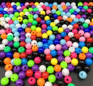 Wholesales Cheap Price Plastic Acrylic Bubblegum Solid Beads for Kids Chunky Necklace Jewelry 20mm Color 1 to 39