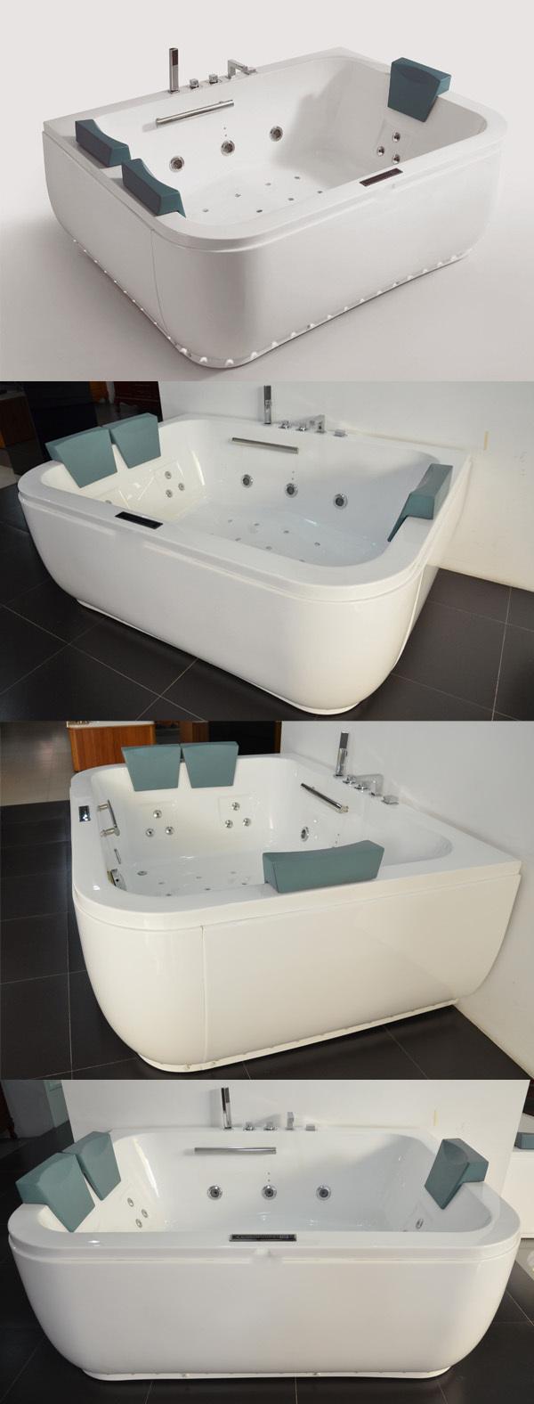 Hs-b1696t 3 Person Bath/ Large Bathtub Shower Combo/ Big Bathtub ...