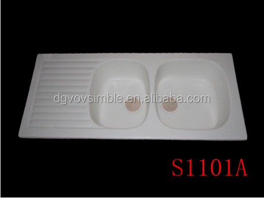 double drainer double bowl kitchen sink double drainer double bowl kitchen sink suppliers and manufacturers at alibabacom - Double Drainer Kitchen Sink