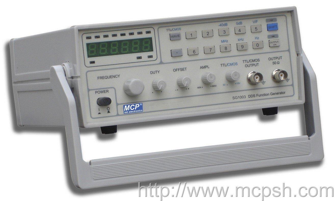 Digital Signal Generator : Generador de señal la función sg digital