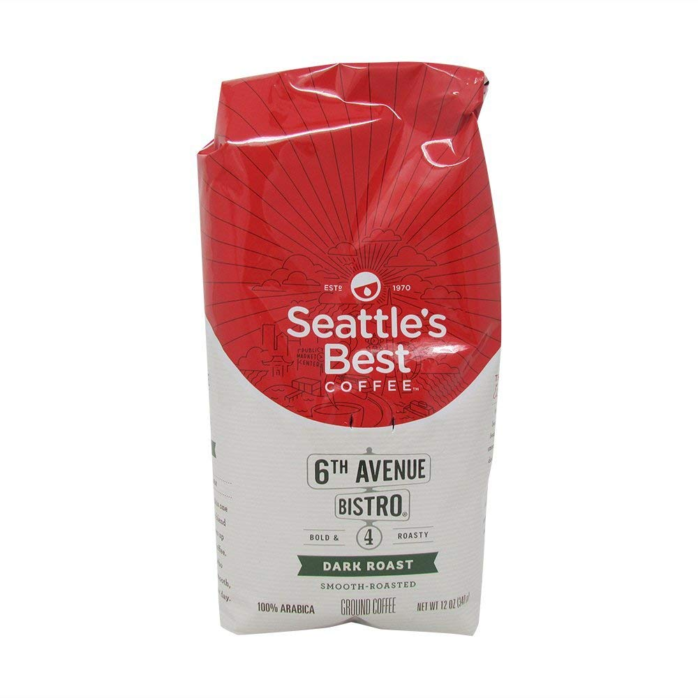 (2 Pack) Seattle's Best Coffee, Signature Blend No.4, Medium Dark & Rich, 12 oz each