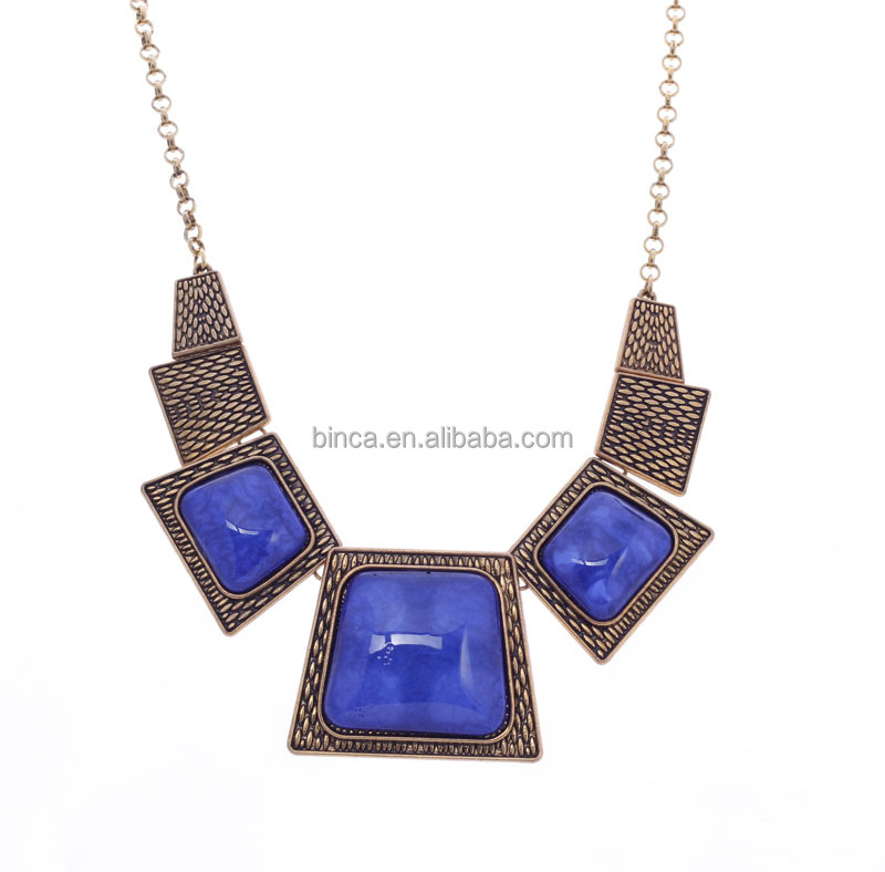 Fashion necklaces Alloy Resins Necklace A830