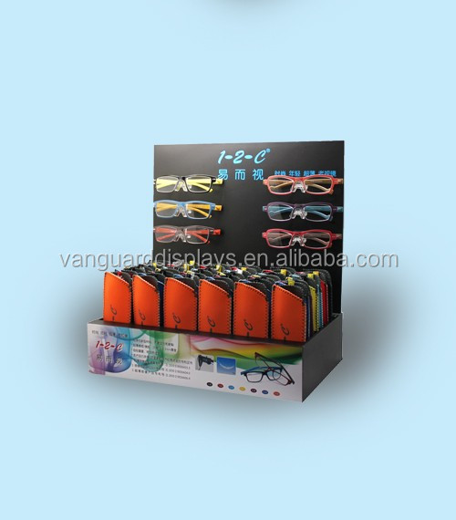 Sunglass Glasses PDQ/Corrugated Cardboard Counter Display