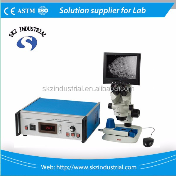 300C digital microscopic melting point apparatus