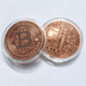 zinc iron brass stamped 1 troy oz 999 fine copper bitcoin cryptoc coins promotional coins